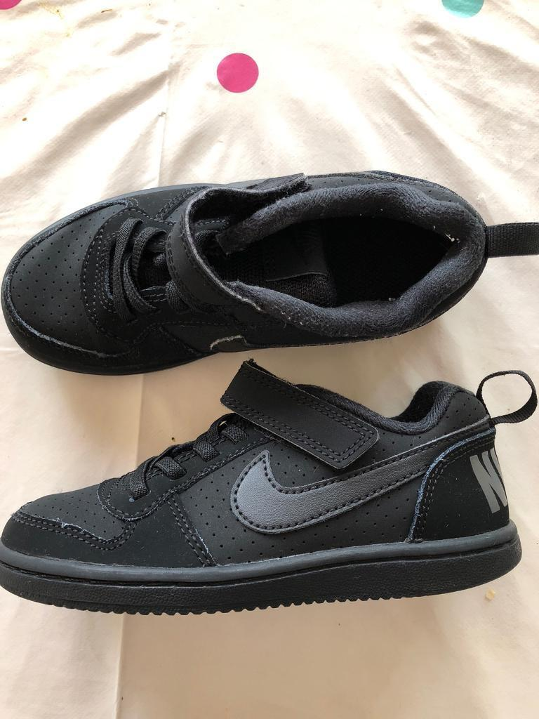 Boys size 10 Nike trainers