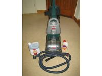 BISSELL POWERWASH UPRIGHT CARPET CLEANER - High power model 1690 with all accessories etc.