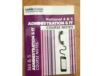 National 4 & 5 Administration & IT