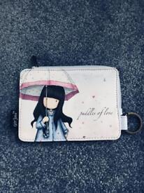 Cartoon girl money purse