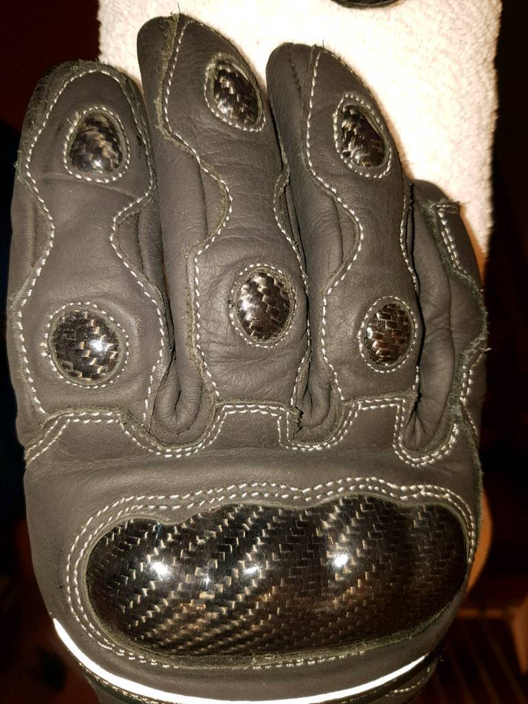*Never used* Spada Motorcycle gloves (M)