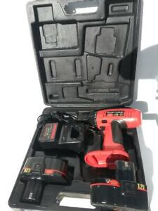 King Canada 12 Volt 3/8-Inch Drill Cordless Driver 1250 RPM  Kit 2 Batteries 1.4 Plenty of Power at an Exceptional Value