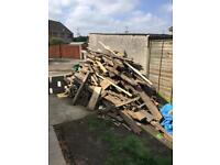 Firewood free to collector