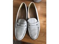Leather shoes by autograph at marks a nd Spencer