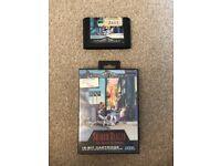 Sega Mega Drive Game Shadow Dancer