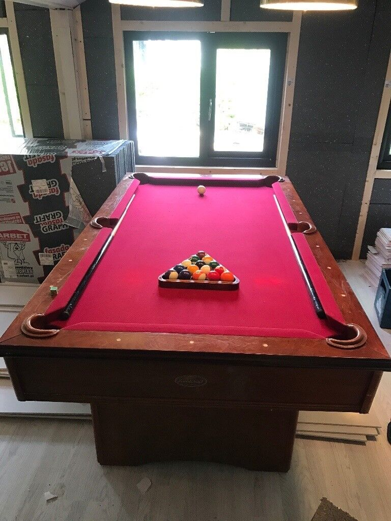 Ft X Ft Sportcraft Pool Table Ipswich Suffolk Pickup Only - Sportcraft 1926 pool table