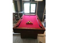 7ft x 4ft Sportcraft Pool Table Ipswich, Suffolk £250. Pickup only.
