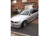BMW 330D M Sport Auto, tinted windows,4 new zimmermann brake discs and pads, 4 new tyres, 6250