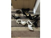 Selection of new size 4 heels