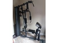Maximuscle home multigym 65kg weights