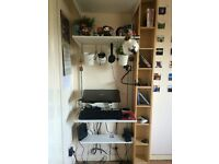 Shelving/desk space for sale