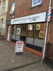 London Street Barbers are looking for an experienced barber ( free accommodation)