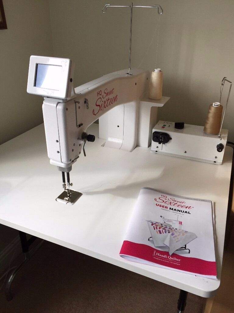Handi Quilter Sweet Sixteen Long Arm Quilting Machine In Swindon