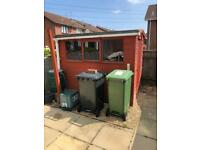 Garden shed 8ft x 6ft free