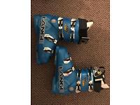 Lange RS 130 Speed Blue ski boots