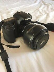 Canon EOS 30D Digital SLR & EF-S 17-85mm IS USM Lens & 50mm f1.8 len& Camera Bag