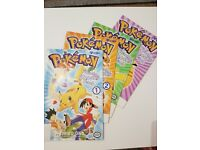 Pokemon Comics Rare