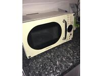 Daewoo cream microwave