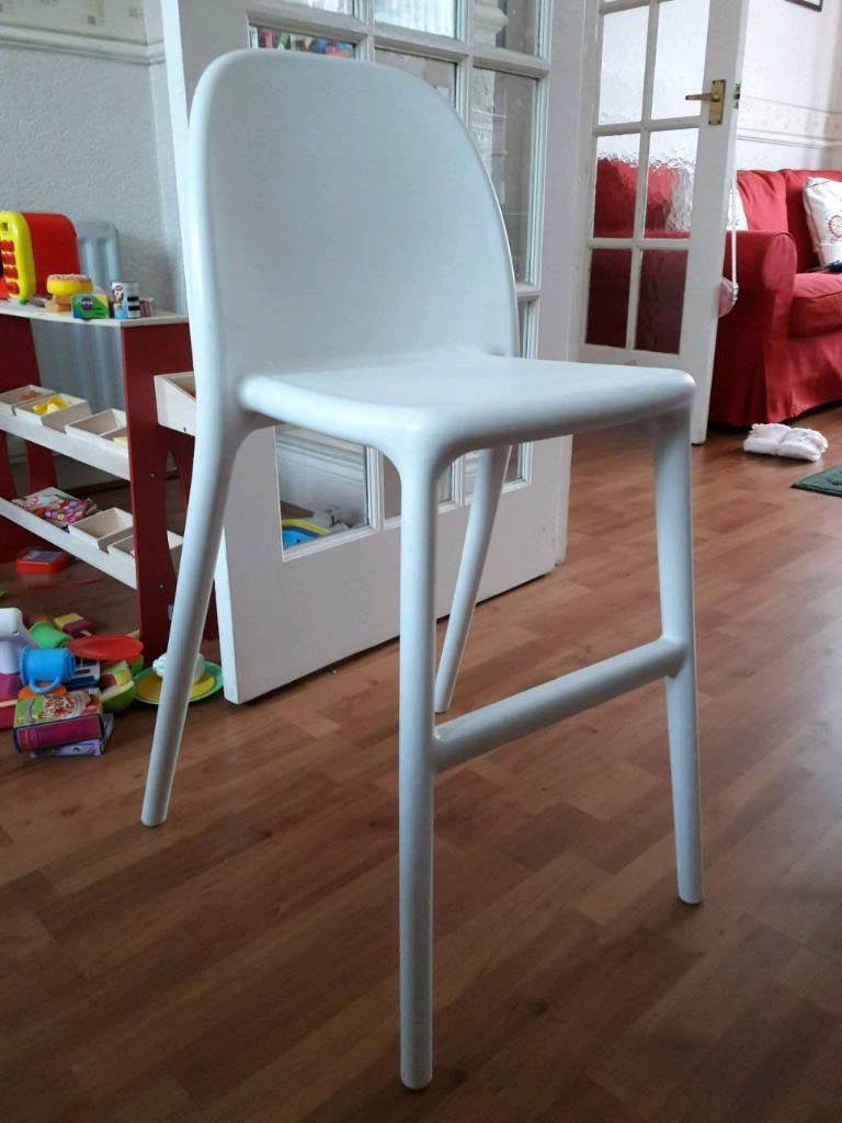 Ikea Urban Junior Chair White Newcastle