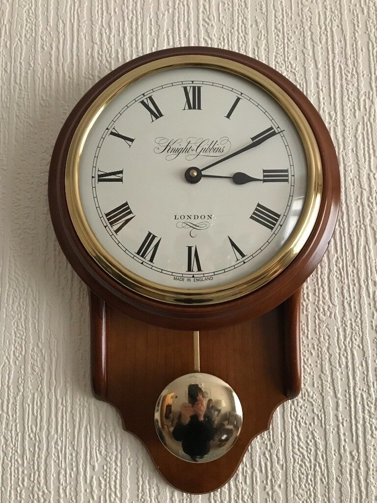 Pendulum Wall Clock By Knight Amp Gibbons In Norwich