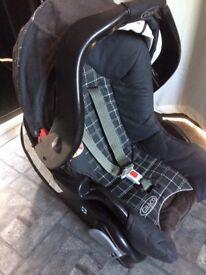 Graco 4in1 Travel System Pushchair/Pram/Infant Car Seat