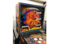 1972 Bally Fireball Pinball Machine