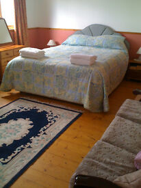 furnished studio room in rural location
