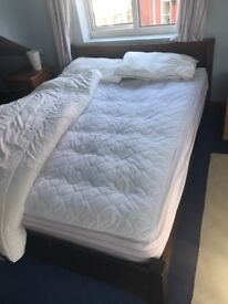 Warren Evans double bed and mattress for sale due to relocation