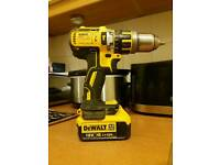 Dewalt brushless drill with 4.0ah battery dcd795 not makita ot bosch