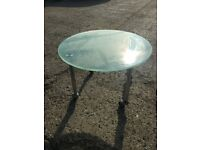Glass Coffee/Reception Table