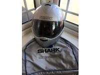 SHARK BRAND MOTORCYCLE MOTORBIKE HELMET Sixe XS