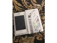 iPhone 4s white EE T-MOBILE VIRGIN ASDA TALKHOME