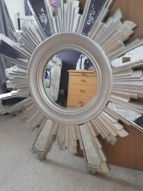 Beautiful star mirror.