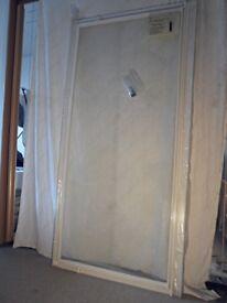 shower pivot door. 850mm x 1780mm. new