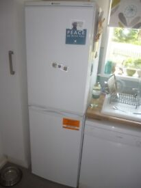 Hotpoint RFAA52P Static Fridge Freezer Colour White Height 1740mm 545mm Wide 580mm Depth