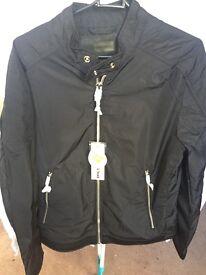 Diesel jacket black men's medium