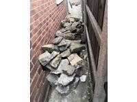 Rockery - garden feature rocks