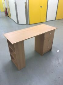 Argos Oak 3 Drawer Desk