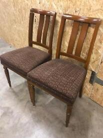 Vintage chairs x 2