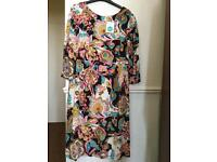 Boden fully lined dress- size 14 long