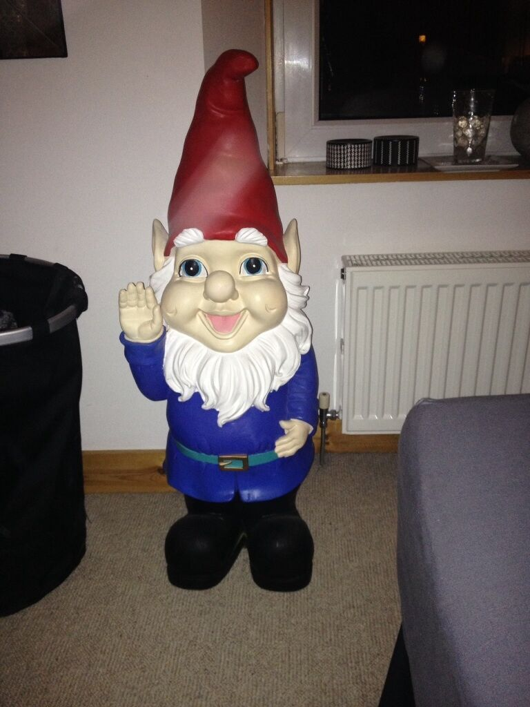 Giant Garden Gnome For Sale in Aberdeen Gumtree : 86 from www.gumtree.com size 768 x 1024 jpeg 90kB