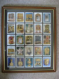 W.D.& H.O. Will's Original 'THE KINGS ART TREASURES' Cigarette Cards from 1938 Full Set