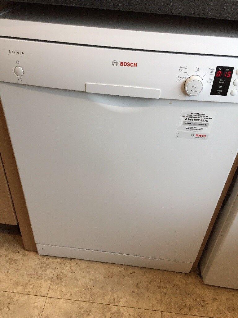 Bosch dishwasher bought May 2016, full size
