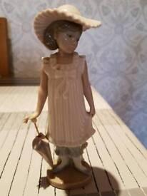 "Lladro Nao ""April Showers"" figurine"