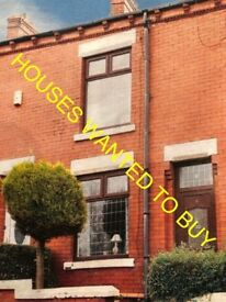 Cheap property wanted to buy in Oldham & Tameside