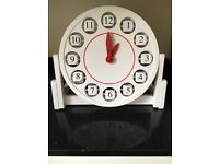 Infant Clock learn to tell the time