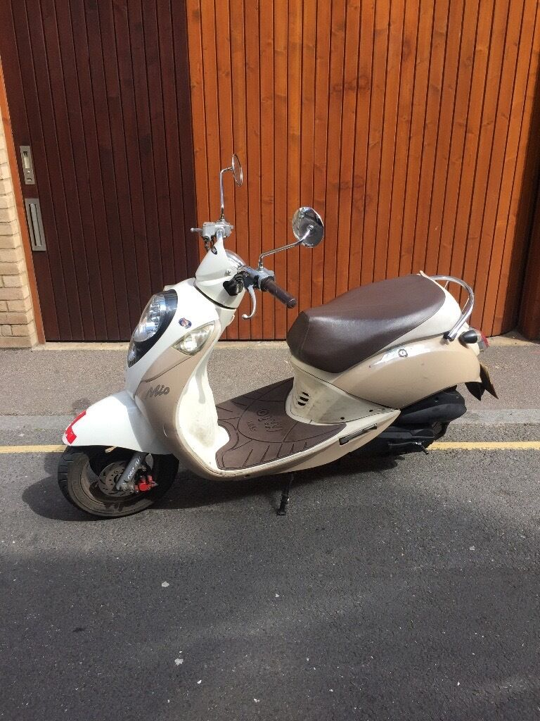 2007 SYM MIO 50CC MOPED ONLY FOR £499
