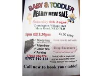 Baby & Toddler Nearly New Sale