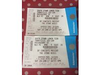 The Stone Roses tickets x 2