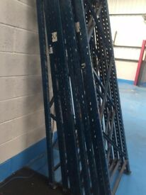 PALLET RACKING FULL WARE HOUSE AND AIRPORT AIRPORT LADDERS